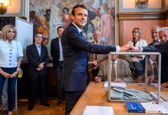 ¡Macronazo! en Francia: la coalición del Presidente barrió en las elecciones legislativas