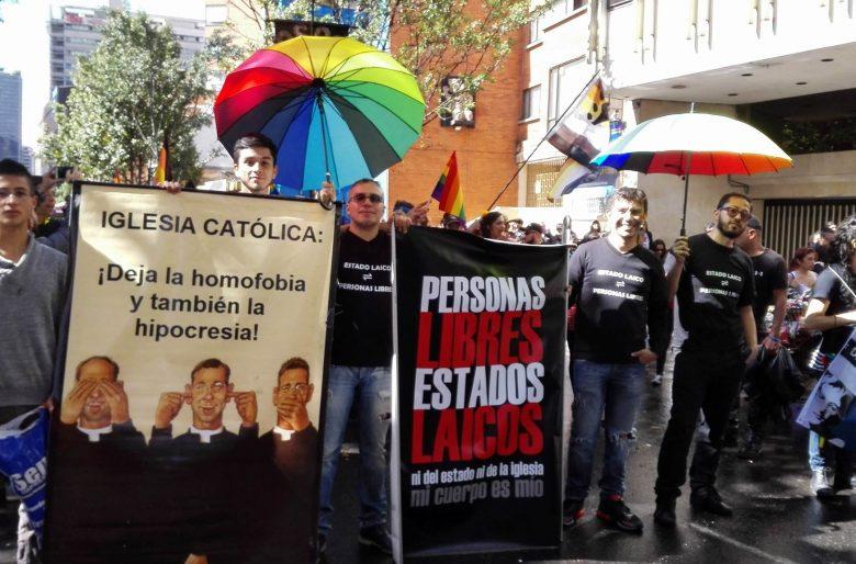 Por el Estado laico marchará la ciudadanía LGBTI