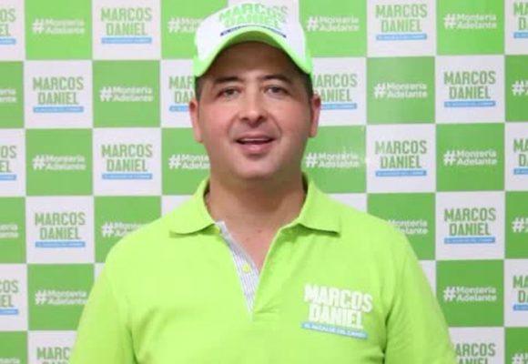 Marcos Daniel Pineda García, el alcalde de Montería