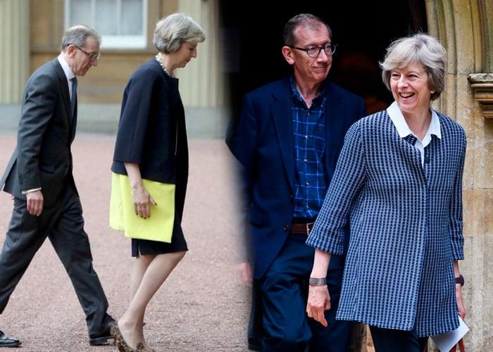 Mr. May, el discreto pero poderoso marido de Theresa May