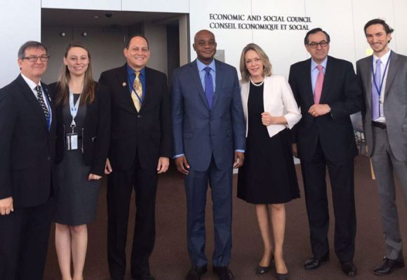 Ministro de Ambiente intervino en Conferencia sobre los Océanos realizada en la ONU