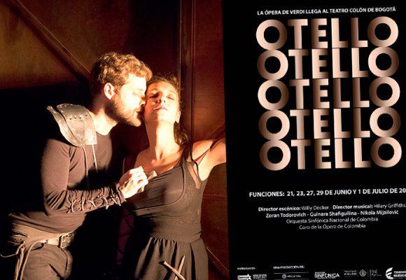 La ópera de Otello tiene una historia para recordar