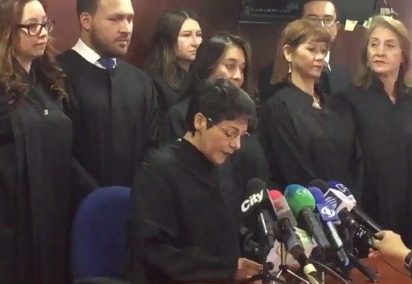 Malestar judicial en Paloquemao con el fiscal