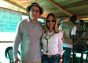 La reaparición de la ex parapolítica Rocío Arias en la entrega de armas de las Farc