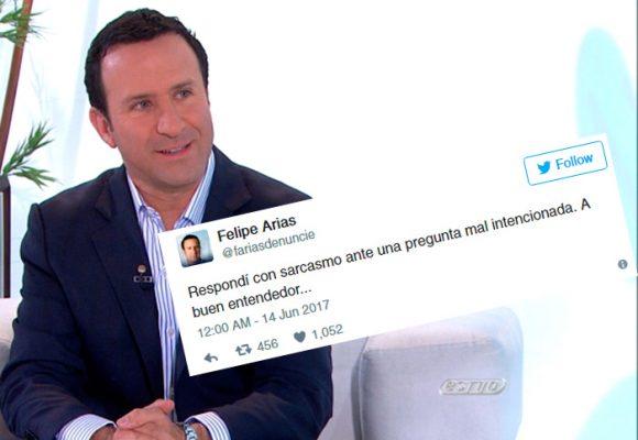La respuesta que Felipe Arias de RCN dio por la frase: