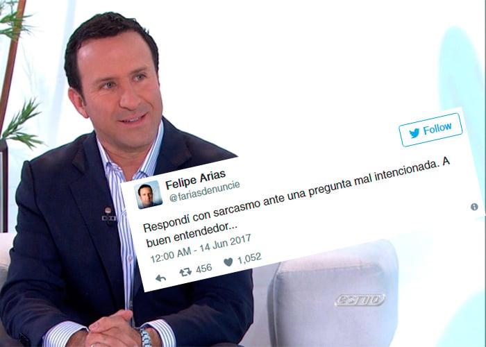 """La respuesta que Felipe Arias de RCN dio por la frase: """"los medios son para hacer plata, no para informar"""""""