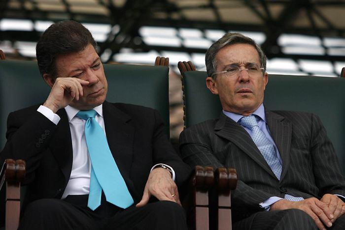 Santos y Uribe a la búsqueda de candidatos