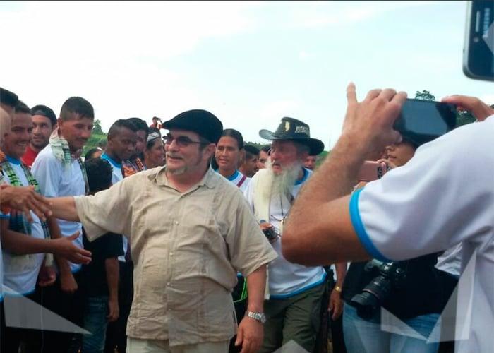 El regreso de Timochenko a la selva del Catatumbo: así es su campamento