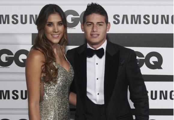James se aburrió de la vanidad de Daniela Ospina