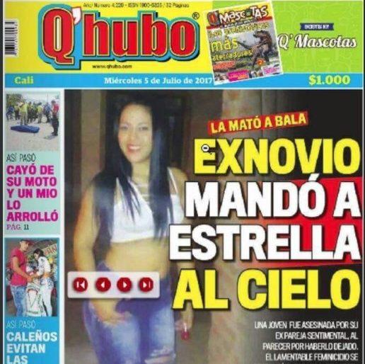 ¿La portada del Q'hubo de Cali que se burla de una mujer asesinada?