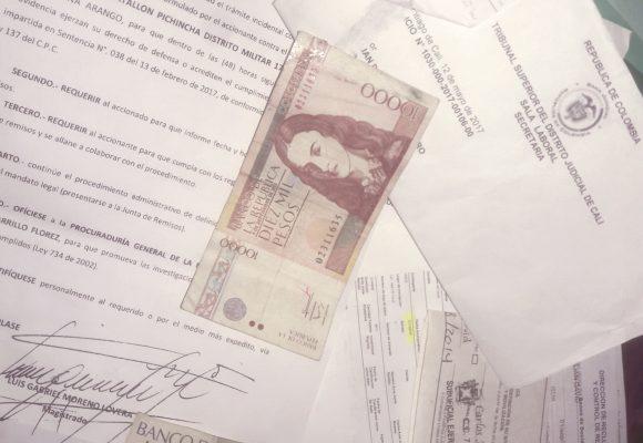 La amabilidad castrense y la burocracia colombiana
