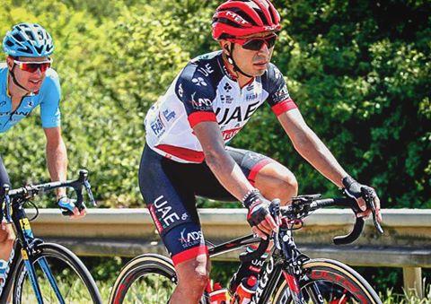 Atapuma ¡que de malas!...estuvo a punto de ser el primer indígena en ganar en el Tour
