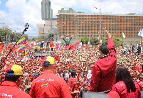 No moleste, apoyemos a Maduro