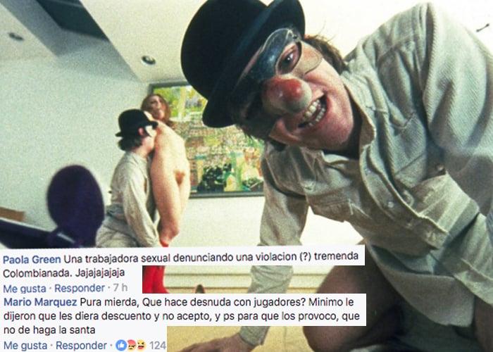 La culpa es de la puta: Así aplaudimos (y nos reímos) de una violación en Colombia