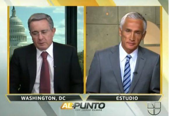 Jorge Ramos: El periodista que descontroló a Trump y a Uribe