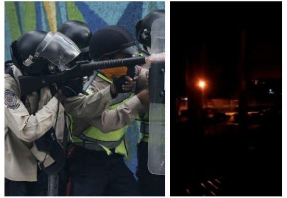 Video: La Guardia Nacional le dispara a la gente en Barquisimeto y Caracas
