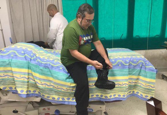 Así fue la urgencia médica de Timochenko en Villavicencio