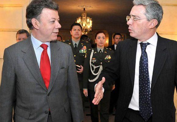 Santos fue el que dijo Uribe, la Naranja Castrochavista lo recuerda