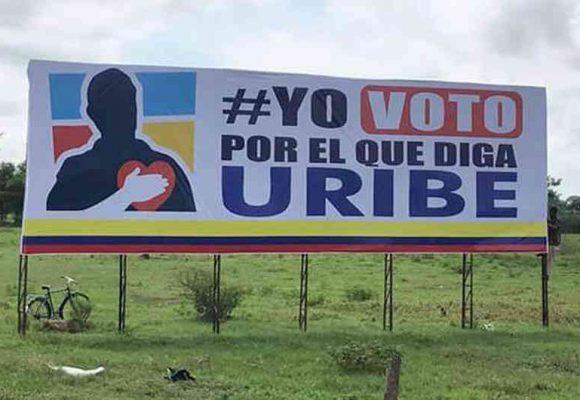"""""""Yo voto por el que diga Uribe"""", ¿en serio?"""