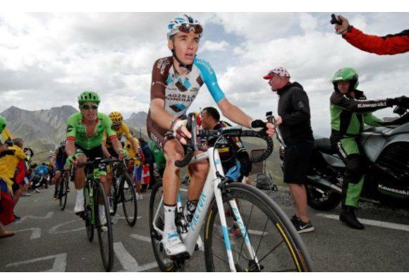 El ciclista francés que está hablando mal de Rigo Urán
