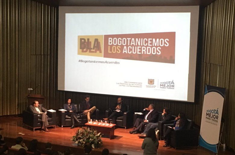 Bogotá habla de paz