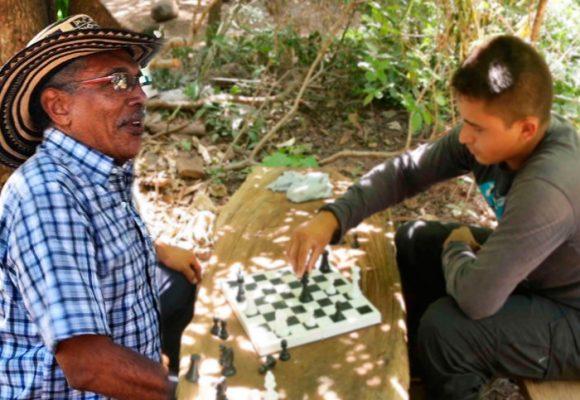 Tres días con las Farc en Conejo, el campamento del guajiro Joaquin Gómez donde pasa sus días