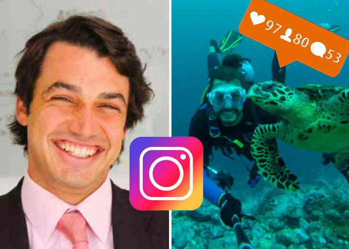 El ingeniero que tiró la carrera por conocer el mundo y triunfó en Instagram