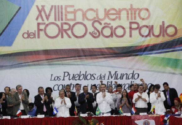 ¿Cuándo se va a desafiliar del Foro de São Pablo, el Partido Verde, el Polo y los progresistas?