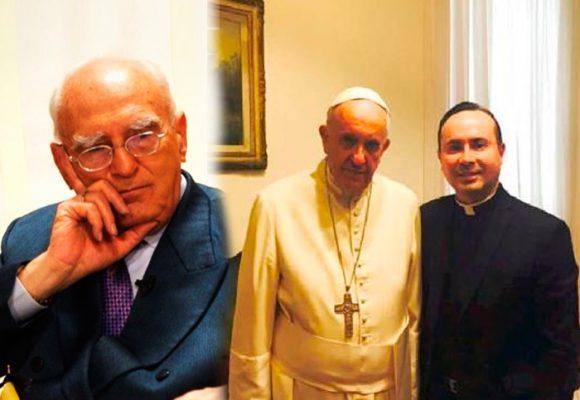 """José Galat contrataca: """"Al Papa no lo eligió Dios sino una mafia de cardenales"""""""
