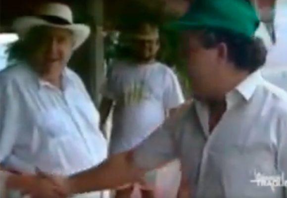 Reveladoras imágenes de Pablo Escobar con Fabio Ochoa el patriarca del Clan