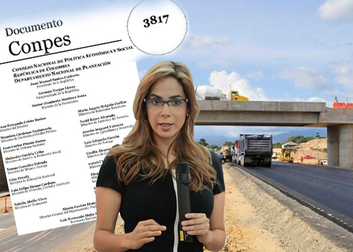 Gina Parody no se salvó del Procurador por el Puerto de su familia en la Ruta del Sol