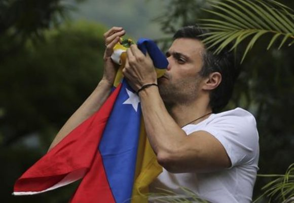 Al fin Leopoldo López regresó a casa