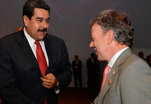 """""""Soy tu padre Santos, deja la maldad contra Venezuela"""", Nicolás Maduro"""