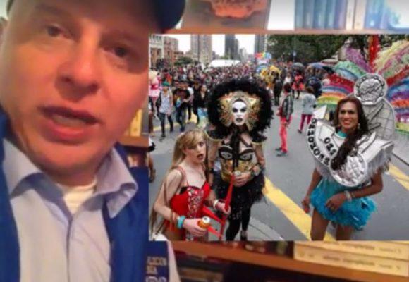 "Despertó el ""poder católico"" con la marcha del orgullo gay"