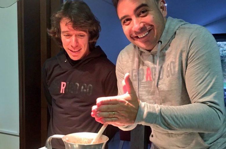 La entrañable amistad entre Rigo Urán y Mario Sabato