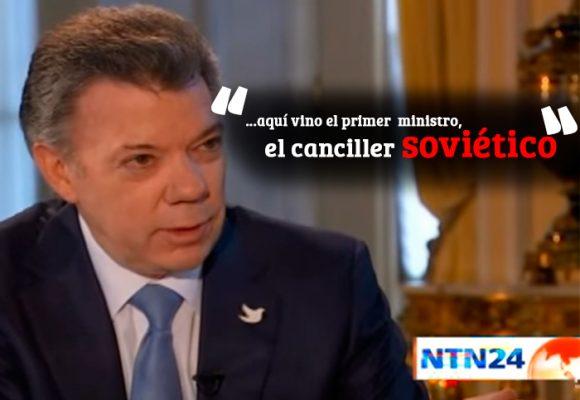 VIDEO: Santos también creía que existía la Unión Soviética