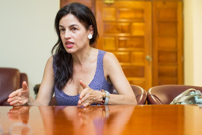 Aunque Sofía Gaviria tiene posiciones liberales, no todas lo son