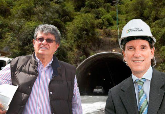 Conconcreto y Solarte, ambos con investigaciones en la Fiscalía, se quedaron con el Túnel de la Linea