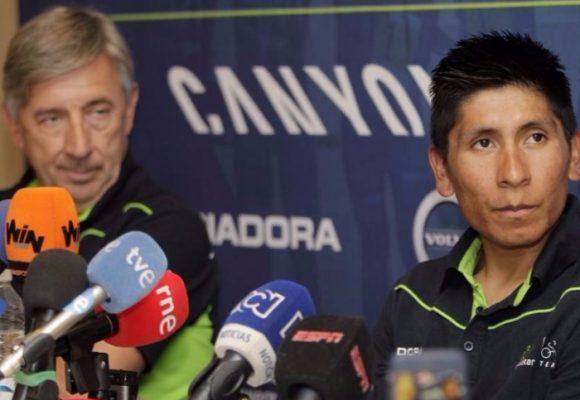La traición del técnico del Movistar a Nairo: lo quiere echar del equipo