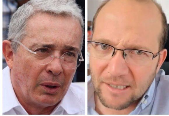 Daniel Samper Ospina y Álvaro Uribe Vélez hacen arder Twitter