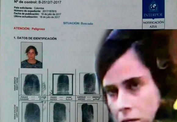 A Violeta, acusada de la bomba del Andino, la busca la Interpol pero no la puede capturar
