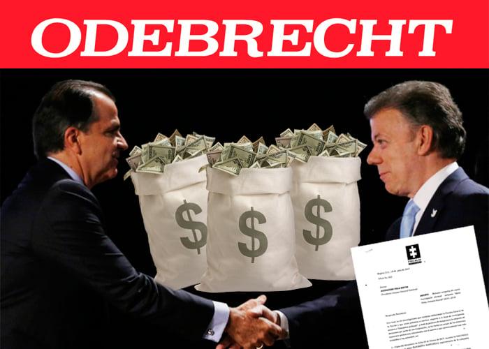 Fiscalía confirma que sí hubo plata de Odebrecht en las campañas de Santos y Zuluaga