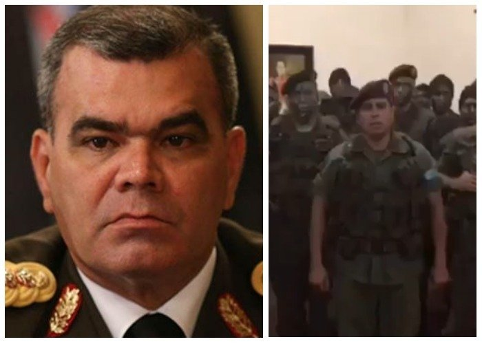 Respuesta del Ejército de Venezuela a la rebelión de algunos soldados