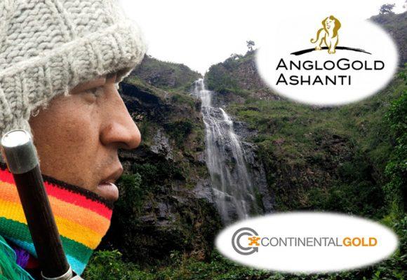 Anglo Gold y Continental quieren la mina en donde nace el 70% del agua de Colombia