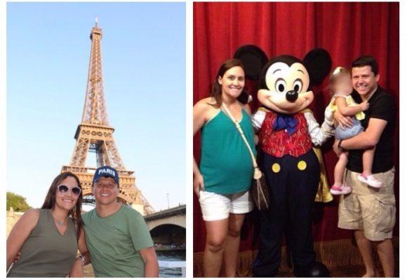 Fotos: París, Disneylandia, la vida de rey que se daba el Ñoño Elías