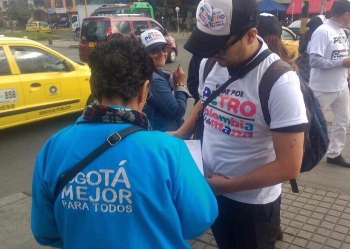 Hasta los empleados de Peñalosa van a votar por Petro Presidente