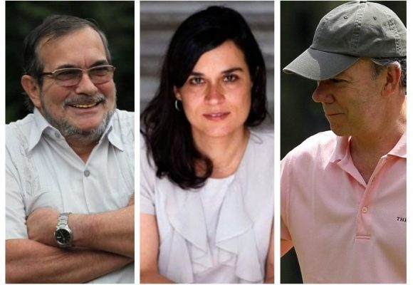 Carolina Sanin votará por Timochenko
