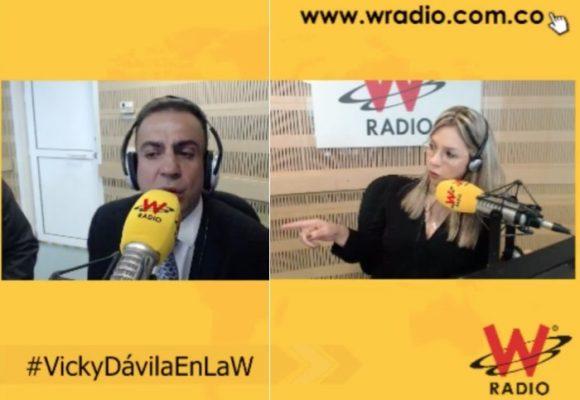 Pa' qué jefe de prensa si Musa Besaile tiene entrevistas con Vicky Dávila