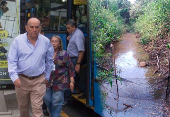 Cemento y buses, la orden del Alcalde de Cali para el humedal del Río Lili