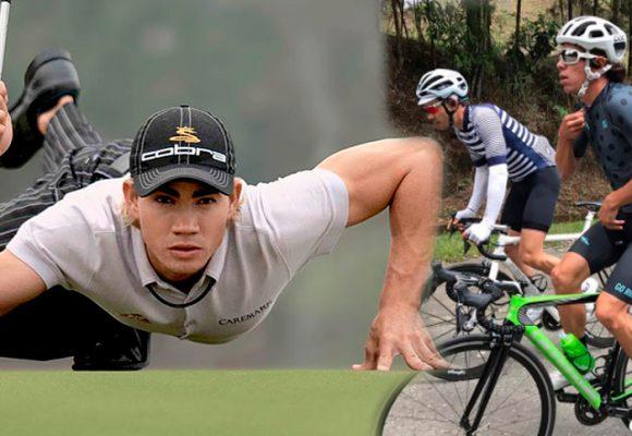 Camilo Villegas, el deportista que sacrificó los millones de dólares del golf por una cicla